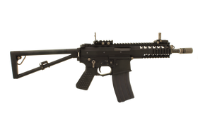 "WE Tech PDW 8"" GBBR (Black)-Rifles-Crown Airsoft"