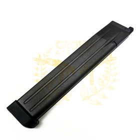 WE Tech 50rds extended Magazine for Hi-capa Series (Black)-Pistol Magazines-Crown Airsoft