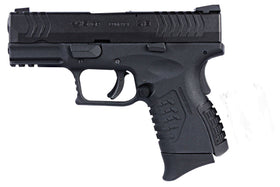 WE Tech Ultra Compact X3.8 GBB Pistol(Black)-Pistols-Crown Airsoft