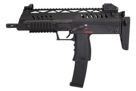 WE Tech SMG 8 GBBR (Black)-Rifles-Crown Airsoft