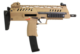 WE Tech SMG 8 GBBR (Tan)-Rifles-Crown Airsoft