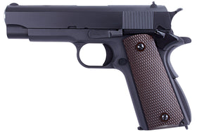 WE Tech 1911A Series GBB Pistol 1943 Ver (2 magazines)-Pistols-Crown Airsoft