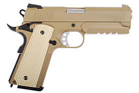 WE Tech Desert Warrior 4.3 GBB Pistol(TAN)-Pistols-Crown Airsoft