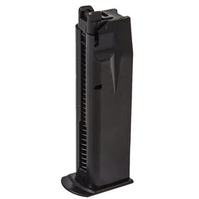 WE 26rd Magazine for F226-E2 GBB (Black)-Pistol Magazines-Crown Airsoft