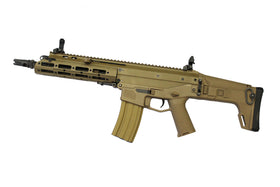 WE Tech MSK E02 AEG Rifle (Tan)-Rifles-Crown Airsoft