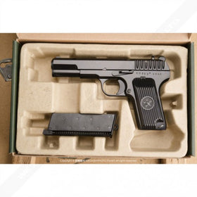 WE TT33 Tokarev TT-33 Gas Blow Back (Black)-Pistols-Crown Airsoft