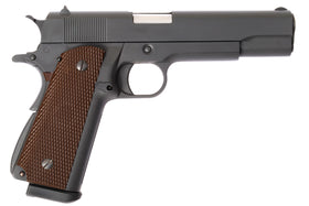 WE Tech 1911 Military GBB Pistol w/Silencer-Pistols-Crown Airsoft