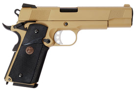 WE Tech MEU GBB Pistol(Tan)-Pistols-Crown Airsoft