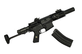 WE-Tech R5C Air Gas Blow Back Rifle (Black)-Rifles-Crown Airsoft