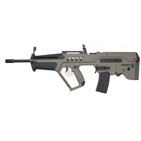 S&T T21 A.E.G with Long Barrel (DE)**Inner Copper Barrel**-Rifles-Crown Airsoft