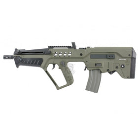 S&T T21 Carbine A.E.G with E.B.B. (OD)(Professional Version)-Rifles-Crown Airsoft