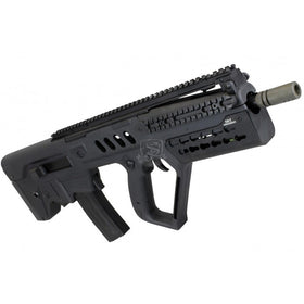 S&T T21 PRO Flat Top KEYMOD Carbine with E.B.B. (BK)-Rifles-Crown Airsoft