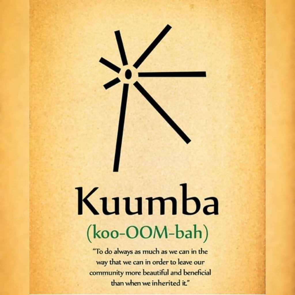 Kuumba means Creativity Creativity is in...