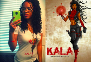 Comic book Creator, Jazmin Truesdale, Makes Comics Universe Where all the Superheroes are Women of Color