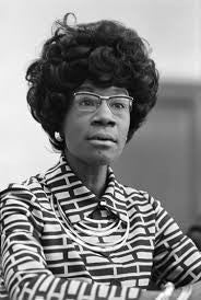Shirley Chisholm: Influential Black Leaders