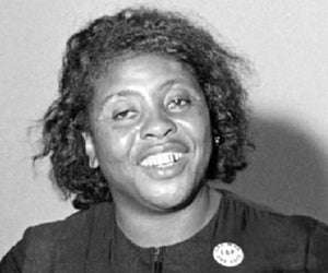 Fannie Lou Hamer- Influential Black Leaders