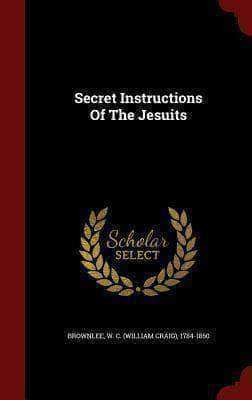 Download Secret Instructions of The Jesuits (E-Book), Urban Books, Black History and more at United Black Books! www.UnitedBlackBooks.org
