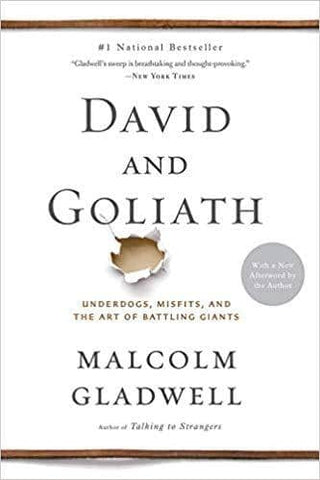 Download David and Goliath: Underdogs, Misfits, and the Art of Battling Giants by Malcolm Gladwell (E-Book), Urban Books, Black History and more at United Black Books! www.UnitedBlackBooks.org