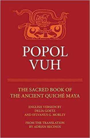 Popol Vuh: Sacred Book of the Quiche Maya People (E-Book) African American Books at United Black Books