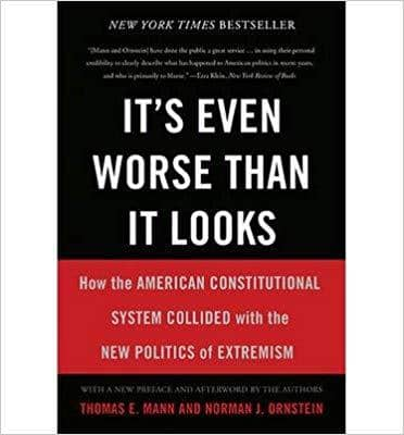 Download It's Even Worse Than It Looks: How the American Constitutional System Collided with the New Politics of Extremism (E-Book), Urban Books, Black History and more at United Black Books! www.UnitedBlackBooks.org