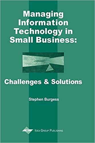 Download Managing Information Technology in Small Business: Challenges and Solutions, Urban Books, Black History and more at United Black Books! www.UnitedBlackBooks.org
