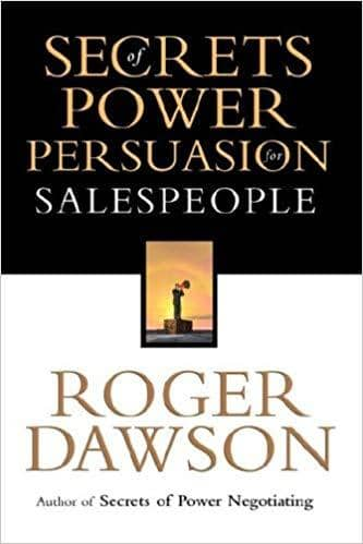 Download Secrets of Power Persuasion for Salesperson (E-Book), Urban Books, Black History and more at United Black Books! www.UnitedBlackBooks.org