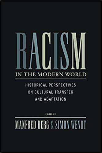Download Berg & Wendt (Eds.) - Racism in the Modern World; Historical Perspectives on Cultural Transfer and Adaptation (E-Book), Urban Books, Black History and more at United Black Books! www.UnitedBlackBooks.org
