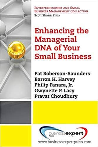 Download Enhancing the Managerial DNA of Your Small Business (E-Book), Urban Books, Black History and more at United Black Books! www.UnitedBlackBooks.org