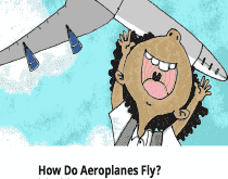 How Do Aeroplanes Fly? (E-Book) - United Black Books