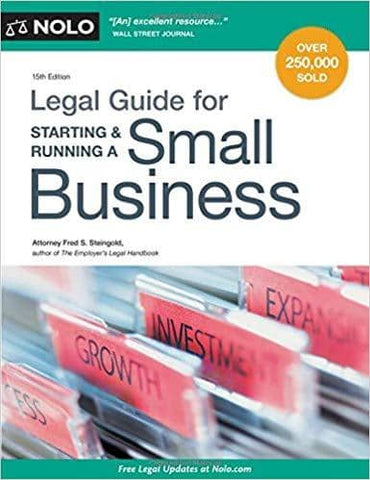 Legal Guide for Starting & Running a Small Business (E-Book)