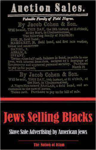 Jews Selling Blacks by Historical Research Department of the Nation of Islam (E-Book) African American Books at United Black Books Black African American E-Books