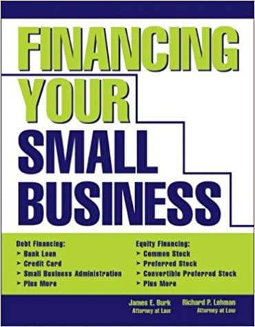 Download Financing Your Small Business (E-Book), Urban Books, Black History and more at United Black Books! www.UnitedBlackBooks.org