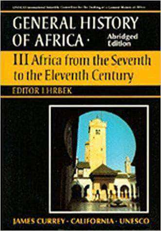 General History of Africa, Vol. III: Africa from the Seventh to the Eleventh Century (E-Book)
