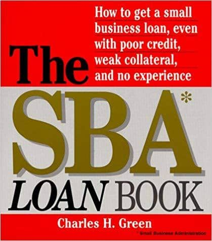 Download The SBA Loan Book by Charles H Green, Urban Books, Black History and more at United Black Books! www.UnitedBlackBooks.org