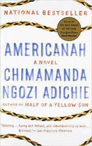 Download Americanah by Chimamanda Ngozi Adichie (Paperback), Urban Books, Black History and more at United Black Books! www.UnitedBlackBooks.org