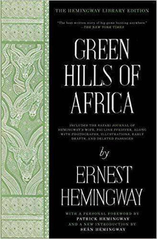 Download Green Hills of Africa by Ernest Hemingway (E-Book), Urban Books, Black History and more at United Black Books! www.UnitedBlackBooks.org