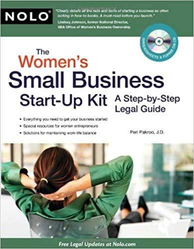 Download The Women's Small Business Start-Up Kit: A Step-by-Step Legal Guide (E-Book), Urban Books, Black History and more at United Black Books! www.UnitedBlackBooks.org