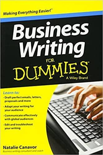 Business Writing For Dummies, 2nd Edition by Natalie Canavor (E-Book)
