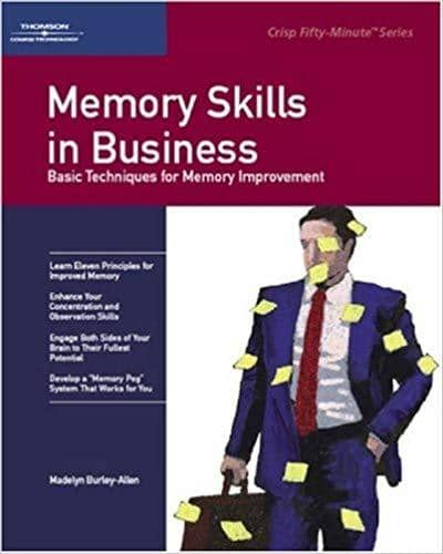 Download Memory Skills In Business - Madelyn Burley Allen (E-Textbook), Urban Books, Black History and more at United Black Books! www.UnitedBlackBooks.org