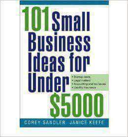 101 Small Business Ideas Under $5000 By Corey Sandler (E-Book) African American Books at United Black Books Black African American E-Books
