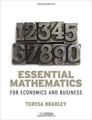 Download Essential Mathematics for Economics and Business, 4th Ed. (E-Textbook), Urban Books, Black History and more at United Black Books! www.UnitedBlackBooks.org