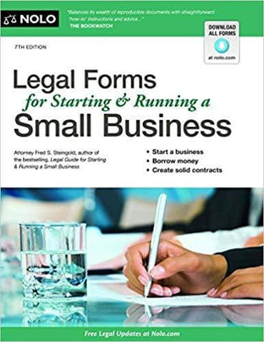 Download Legal Forms for Starting & Running a Small Business (E-Book), Urban Books, Black History and more at United Black Books! www.UnitedBlackBooks.org
