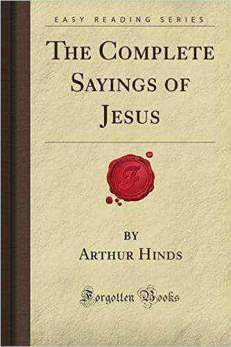 Download The Complete Sayings of Jesus (E-Book), Urban Books, Black History and more at United Black Books! www.UnitedBlackBooks.org