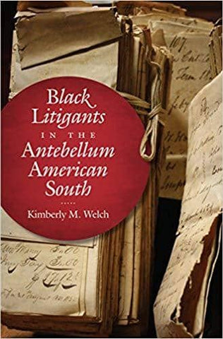 Black Litigants in the Antebellum American South (E-Book)