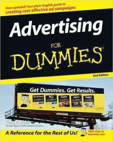Download Advertising for Dummies (E-Book), Urban Books, Black History and more at United Black Books! www.UnitedBlackBooks.org