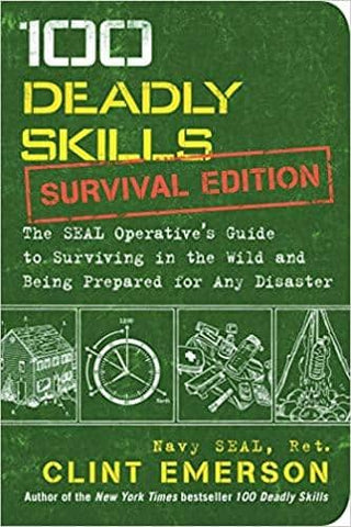 Download 100 Deadly Skills Survival Edition by Clint Emerson (Audiobook), Urban Books, Black History and more at United Black Books! www.UnitedBlackBooks.org