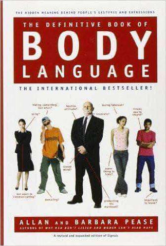 The Definitive Book of BODY LANGUAGE by Allan and Barbara Pease - United Black Books