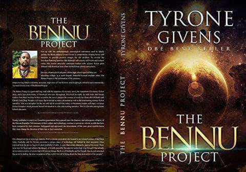 The Bennu Project by Tyrone Givens (Physical Book + E-Book) - United Black Books