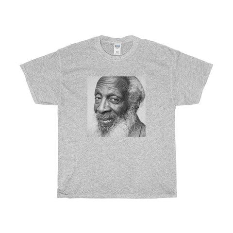 Download Baba Dick Gregory - Unisex Heavy Cotton Tee, Urban Books, Black History and more at United Black Books! www.UnitedBlackBooks.org