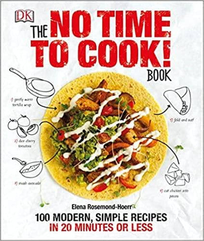 Download The No Time to Cook! Book: 100 Modern, Simple Recipes in 20 Minutes or Less (E-Book), Urban Books, Black History and more at United Black Books! www.UnitedBlackBooks.org